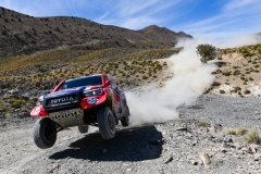 307 DE VILLIERS Giniel (zaf), HARO Alex (esp), Toyota Gazoo Racing, Toyota Hilux, action during the 1st stage of the Rallye du Maroc 2019 from Fes to Erfoud on October 5th - Photo Julien Delfosse / DPPI