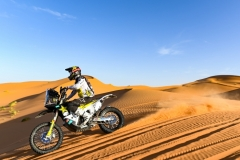 29 THOMAS SHORT Andrew (usa), Red Bull KTM Factory Racing, Husqvarna FR450 Rally Factory, action during the 2nd Stage of the Rallye du Maroc 2019 from Erfoud to Erfoud on October 6th - Photo Julien Delfosse / DPPI