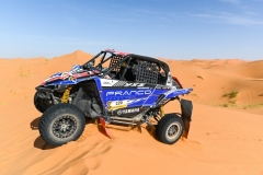 220 SERPA Rui (prt), GUILHERME Nuno (prt), Francosport, Yamaha YXZ 1000R SS, SSV, T3 S, action during the 2nd Stage of the Rallye du Maroc 2019 from Erfoud to Erfoud on October 6th - Photo Julien Delfosse / DPPI