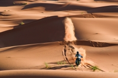29 THOMAS SHORT Andrew (usa), Red Bull KTM Factory Racing, Husqvarna FR450 Rally Factory, action during the 2nd Stage of the Rallye du Maroc 2019 from Erfoud to Erfoud on October 6th - Photo Eric Vargiolu / DPPI