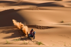 07 BENAVIDES Kevin (arg), Monter Energy Honda Team, Honda CRF 450, action during the 2nd Stage of the Rallye du Maroc 2019 from Erfoud to Erfoud on October 6th - Photo Eric Vargiolu / DPPI