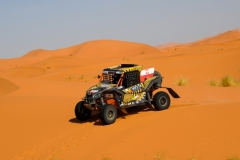 338 DOMZALA Aron (pol), MARTON Maciej (pol), South Racing - Can Am, Can Am Maverick X3, action during the 2nd Stage of the Rallye du Maroc 2019 from Erfoud to Erfoud on October 6th - Photo Eric Vargiolu / DPPI