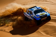 308 VAN LOON Erik (nld), DELAUNAY Sebastien (fra), Overdrive Racing, Toyota Hilux Overdrive, action during the 2nd Stage of the Rallye du Maroc 2019 from Erfoud to Erfoud on October 6th - Photo Julien Delfosse / DPPI