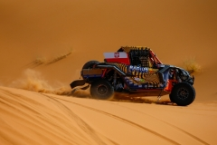 338 DOMZALA Aron (pol), MARTON Maciej (pol), South Racing - Can Am, Can Am Maverick X3, action during the 2nd Stage of the Rallye du Maroc 2019 from Erfoud to Erfoud on October 6th - Photo Julien Delfosse / DPPI
