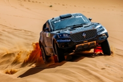 309 ROMA Nani (esp), OLIVERAS Dani (esp), Joan Roma, Borgward BX7 DKR EVO, action during the 2nd Stage of the Rallye du Maroc 2019 from Erfoud to Erfoud on October 6th - Photo Julien Delfosse / DPPI