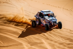 339 KARIAKIN Sergei (rus), VLASIUK Anton (rus), SNAG Racing Team, Snag Proto, action during the 2nd Stage of the Rallye du Maroc 2019 from Erfoud to Erfoud on October 6th - Photo Julien Delfosse / DPPI