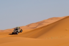 203 ALBIRA Vincent (fra), NAVECH Philippe (fra), Baninga Ya Desert, Baninga YXZ 10005, SSV, T3 P, action during the 2nd Stage of the Rallye du Maroc 2019 from Erfoud to Erfoud on October 6th - Photo Frederic Le Floc'h / DPPI
