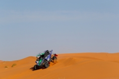 217 FRANCO Mario (prt), FRANCO Rui (prt), Francosport, Yamaha YZX 1000 R, SSV, T3 S, action during the 2nd Stage of the Rallye du Maroc 2019 from Erfoud to Erfoud on October 6th - Photo Frederic Le Floc'h / DPPI
