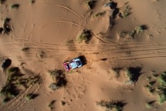 301 PETERHANSEL Stephane (fra), PETERHANSEL Andrea (deu), X-Raid John Cooper Works Team, Mini John Cooper Works Buggy, action during the 3rd Stage of the Rallye du Maroc 2019 from Erfoud to Erfoud on October 7th - Photo Frederic Le Floc'h / DPPI