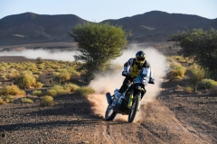 02 QUINTANILLA Pablo (chl), Red Bull KTM Factory Racing, KTM 450 Rally Factory, action during the 4th Stage of the Rallye du Maroc 2019 from Erfoud to Erfoud on October 8th - Photo Eric Vargiolu / DPPI