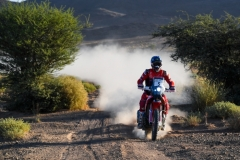 05 BRABEC Ricky (usa), Monster Energy Honda Team, Honda CRF 450 Rally, action during the 4th Stage of the Rallye du Maroc 2019 from Erfoud to Erfoud on October 8th - Photo Eric Vargiolu / DPPI