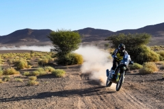 29 THOMAS SHORT Andrew (usa), Red Bull KTM Factory Racing, Husqvarna FR450 Rally Factory, action during the 4th Stage of the Rallye du Maroc 2019 from Erfoud to Erfoud on October 8th - Photo Eric Vargiolu / DPPI