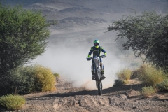 122 FLICK Xavier (fra), Sherco TVS Rally Factory, Sherco, action during the 4th Stage of the Rallye du Maroc 2019 from Erfoud to Erfoud on October 8th - Photo Eric Vargiolu / DPPI