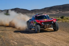 306 SAINZ Carlos (esp), CRUZ Lucas (esp), X-Raid John Cooper Works Team, Mini John Cooper Works Buggy, action during the 4th Stage of the Rallye du Maroc 2019 from Erfoud to Erfoud on October 8th - Photo Eric Vargiolu / DPPI