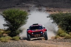 301 PETERHANSEL Stephane (fra), PETERHANSEL Andrea (deu), X-Raid John Cooper Works Team, Mini John Cooper Works Buggy, action during the 4th Stage of the Rallye du Maroc 2019 from Erfoud to Erfoud on October 8th - Photo Eric Vargiolu / DPPI