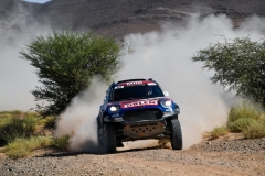 303 PRZYGONSKI Jakub (pol), GOTTSCHALK Timo (deu), Orlen Team / X-Raid, Mini Johnn Cooper Works Rally, action during the 4th Stage of the Rallye du Maroc 2019 from Erfoud to Erfoud on October 8th - Photo Eric Vargiolu / DPPI