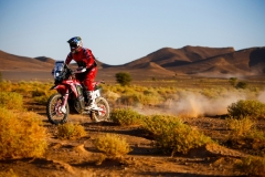 05 BRABEC Ricky (usa), Monster Energy Honda Team, Honda CRF 450 Rally, action during the 4th Stage of the Rallye du Maroc 2019 from Erfoud to Erfoud on October 8th - Photo Julien Delfosse / DPPI