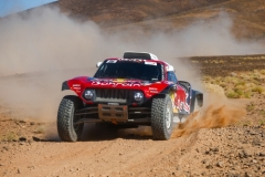 306 SAINZ Carlos (esp), CRUZ Lucas (esp), X-Raid John Cooper Works Team, Mini John Cooper Works Buggy, action during the 4th Stage of the Rallye du Maroc 2019 from Erfoud to Erfoud on October 8th - Photo Julien Delfosse / DPPI
