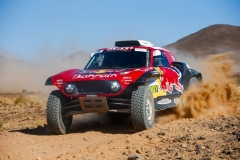 301 PETERHANSEL Stephane (fra), PETERHANSEL Andrea (deu), X-Raid John Cooper Works Team, Mini John Cooper Works Buggy, action during the 4th Stage of the Rallye du Maroc 2019 from Erfoud to Erfoud on October 8th - Photo Julien Delfosse / DPPI