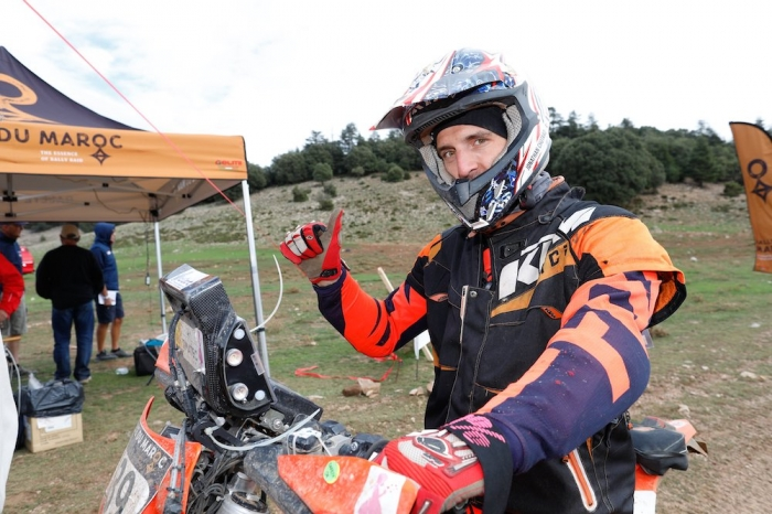 139 CHOTARD Jonathan (FRA), Juracing Team, KTM 450 EXC, Enduro Cup, action  during Rally of Morocco 2018, Podium finish, Fes, october 9 - Photo Frederic Le Floc'h / DPPI
