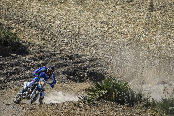 144 HODOLA Richard (HUN), Yamaha WR450F, Enduro Cup, action during Rally of Morocco 2018, Prologue, Fes, october 4 - Photo Eric Vargiolu / DPPI