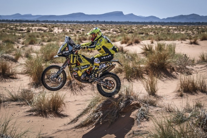 24 SVITKO Stefan (SLO), KTM 450 Rally, moto, quad, action during Rally of Morocco 2018, Stage 1, Fes to Erfoud, october 5 - Photo Eric Vargiolu / DPPI