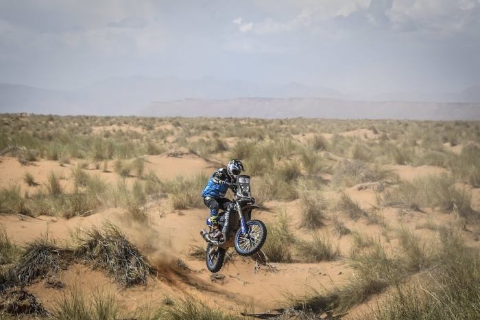 06 VAN BEVEREN Adrien (FRA), Yamalube Yamaha Official Rally Team, Yamaha WR 450F Rally, moto, quad, action during Rally of Morocco 2018, Stage 1, Fes to Erfoud, october 5 - Photo Eric Vargiolu / DPPI