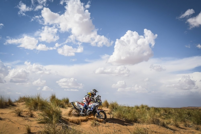 32 TIELEMANS Mark (NDL), KTM 450 Rally, moto, quad, action during Rally of Morocco 2018, Stage 1, Fes to Erfoud, october 5 - Photo Eric Vargiolu / DPPI
