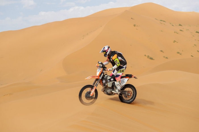 139 CHOTARD Jonathan (FRA), Juracing Team, KTM 450 EXC, Enduro Cup, action  during Rally of Morocco 2018, Stage 4, Erfoud to Erfoud, october 8 - Photo Frederic Le Floc'h / DPPI