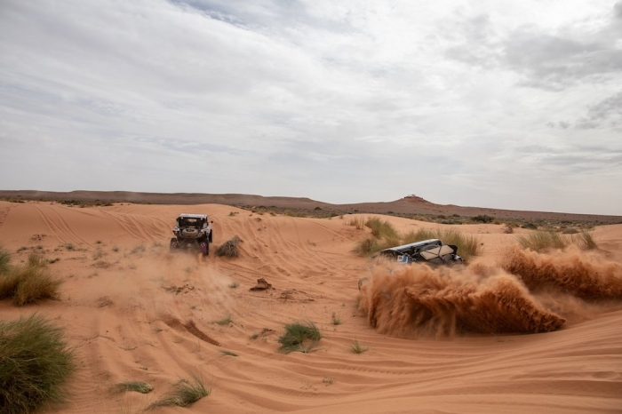 during Rally of Morocco 2018, Stage 2, Erfoud to Erfoud, october 6 - Photo Frederic Le Floc'h / DPPI