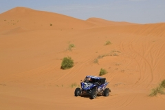 211 LIPAROTI Camelia (ITA), Yamaha Motor Europe, Yamaha YXZ1000R, SSV, portrait KERCKAERT Jean francois, Yamaha YXZ1000R, SSV during Rally of Morocco 2018, Stage 4, Erfoud to Erfoud, october 8 - Photo Eric Vargiolu / DPPI