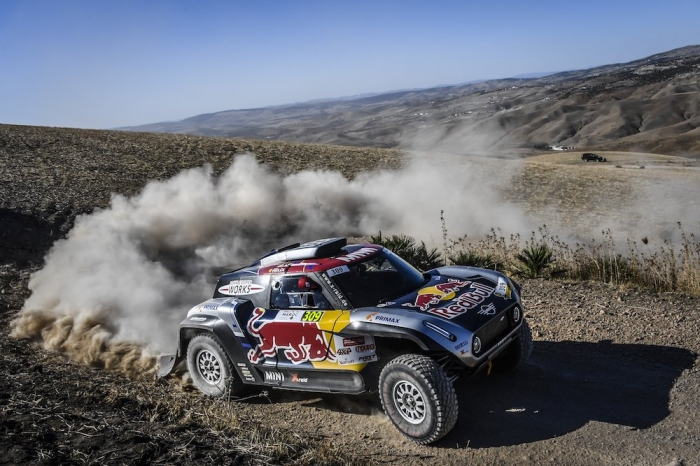 309 DESPRES Cyril (AND), cotre Jean-Paul (FRA), X-Raid Mini John Cooper Works Buggy Team, Mini John Cooper Works Buggy, auto, action during Rally of Morocco 2018, Prologue, Fes, october 4 - Photo Eric Vargiolu / DPPI