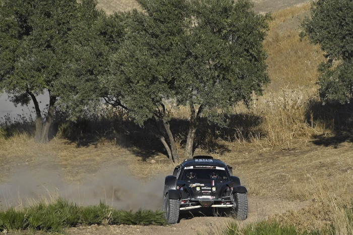 401 LAMBILLIOTTE Philippe (BEL), LAMBILLIOTTE Maxime (BEL), Henrard Racing Team, Henrard Racing Dunbee, Open, action during Rally of Morocco 2018, Prologue, Fes, october 4 - Photo Eric Vargiolu / DPPI