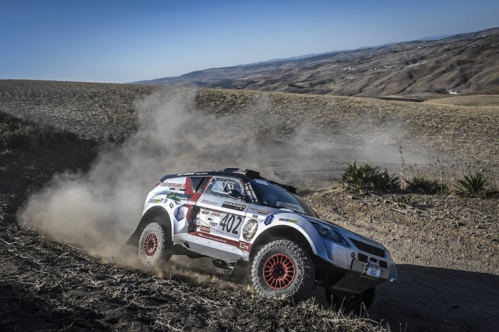 402 BOURGEOIS Pascal (FRA), BOURGEOIS Cyril (FRA), Team Bourgeois Competition, Toyota Renovatio GTR, Open, action during Rally of Morocco 2018, Prologue, Fes, october 4 - Photo Eric Vargiolu / DPPI
