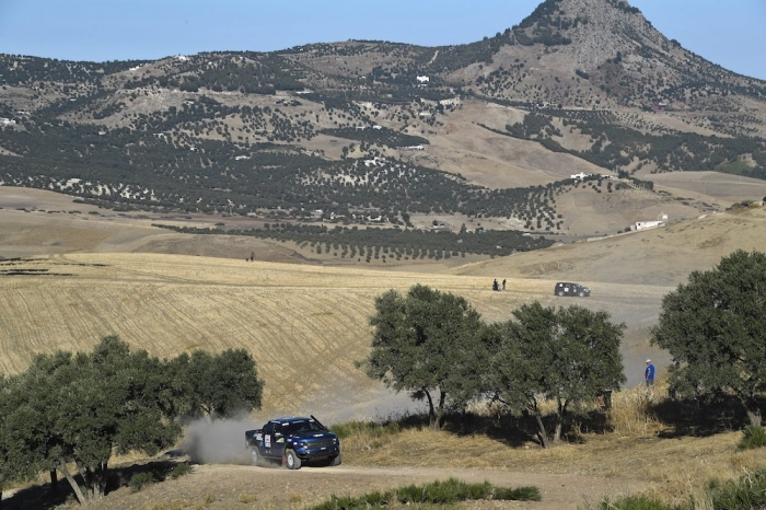 317 TITOV Alexey (RUS), RUSOV Andrey (RUS), RE Autoklubs, Ford F150, auto, action during Rally of Morocco 2018, Prologue, Fes, october 4 - Photo Eric Vargiolu / DPPI