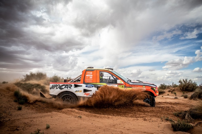 302 PROKOP Martin (CZE), TOMANEK Jan (CZE), MP-Sports, Ford Raptor RS Cross Country, auto, action  during Rally of Morocco 2018, Stage 1, Fes to Erfoud, october 5 - Photo Frederic Le Floc'h / DPPI