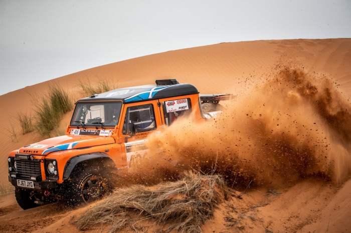 406 WICKLOW Andrew (GBR), EVANS Quin (GBR), Bowler Motorsport, Bowler Bulldog, Open, action  during Rally of Morocco 2018, Stage 2, Erfoud to Erfoud, october 6 - Photo Frederic Le Floc'h / DPPI