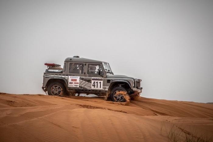 411 PALMER Brian (GBR), TOWNSON Mark (GBR), Bowler Motorsport, Bowler Bulldog, Open, action  during Rally of Morocco 2018, Stage 2, Erfoud to Erfoud, october 6 - Photo Frederic Le Floc'h / DPPI