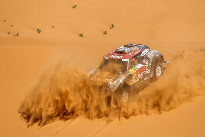 309 DESPRES Cyril (AND), cotre Jean-Paul (FRA), X-Raid Mini John Cooper Works Buggy Team, Mini John Cooper Works Buggy, auto, action  during Rally of Morocco 2018, Stage 4, Erfoud to Erfoud, october 8 - Photo Frederic Le Floc'h / DPPI