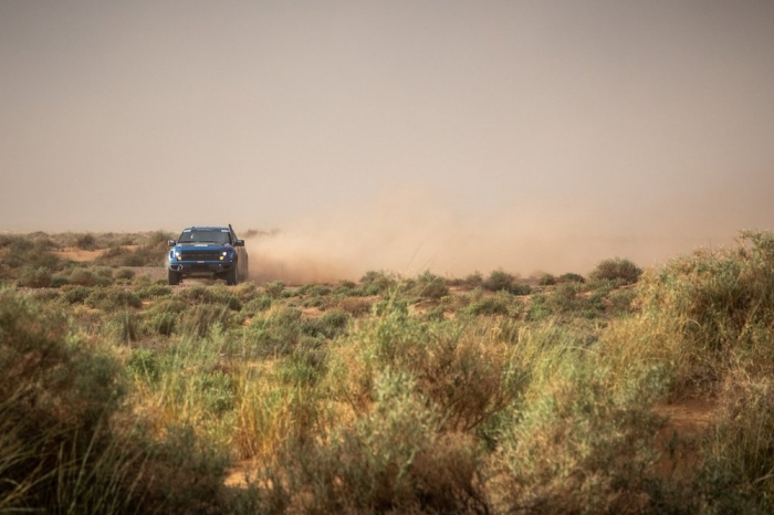 317 TITOV Alexey (RUS), RUSOV Andrey (RUS), RE Autoklubs, Ford F150, auto, action  during Rally of Morocco 2018, Stage 1, Fes to Erfoud, october 5 - Photo Frederic Le Floc'h / DPPI