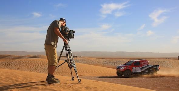 Rallye du Maroc : Couverture TV