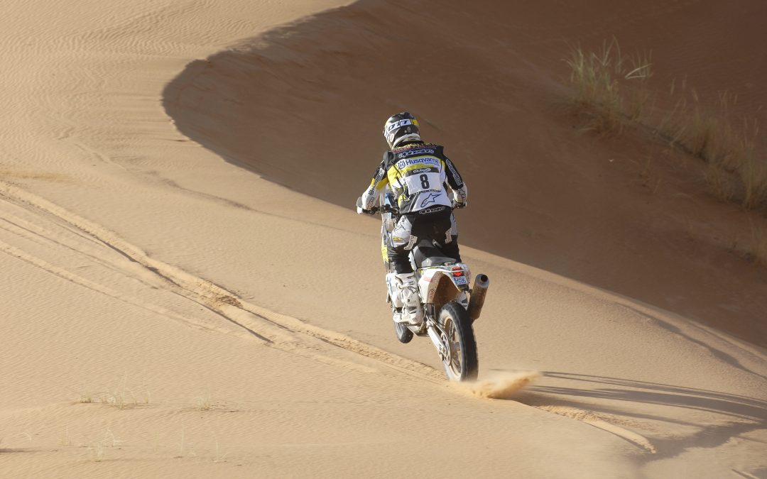 The Rockstar Energy Husqvarna Factory Racing team also on The Rally of Morocco!