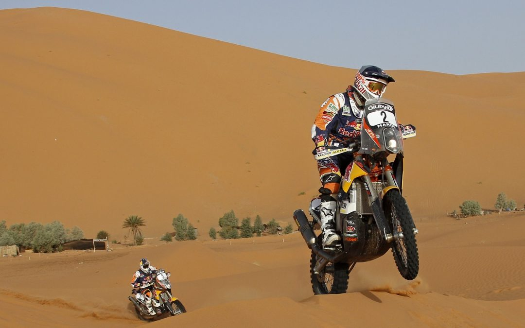 The official KTM team on the Rally of Morocco